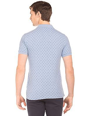 U.S. Polo Assn. Slim Fit Paisley Print Polo Shirt