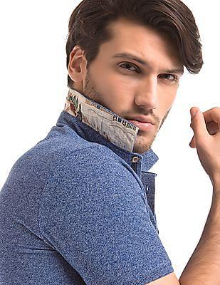True Blue Regular Fit Pique Polo Shirt