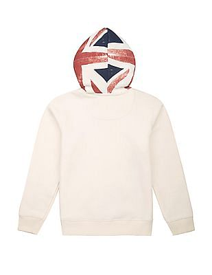 FM Boys Boys Printed Hooded Sweatshirt