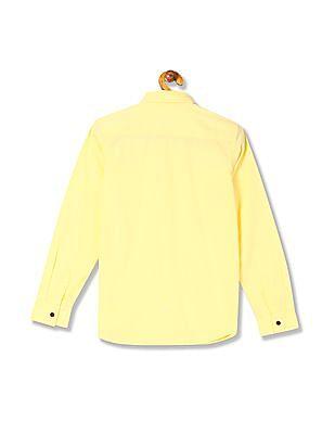 FM Boys Boys Regular Fit Long Sleeve Shirt