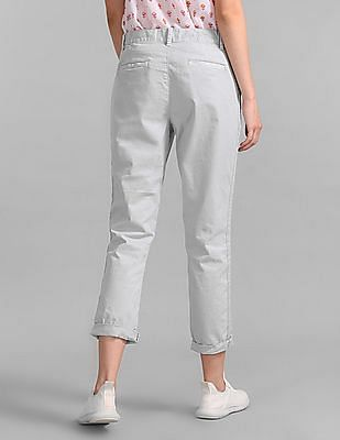 GAP Girlfriend Chinos With Side Stripe In Twill