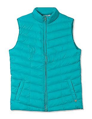 U.S. Polo Assn. Women Sleeveless Down Quilted Jacket