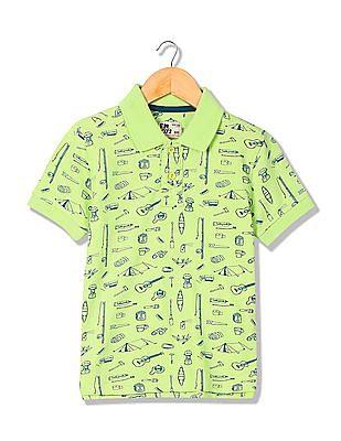 FM Boys Slim Fit Polo Shirt