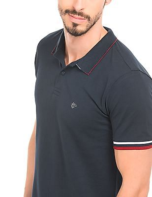 Ruggers Tipped Sleeve Polo Shirt