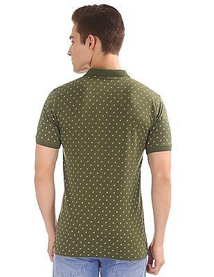 Ruggers Printed Regular Fit Polo Shirt