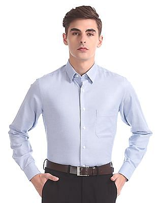 Arrow Regular Fit Concealed Button Down Shirt