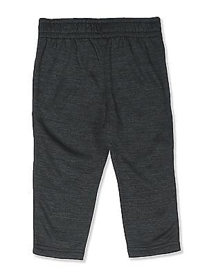 The Children's Place Toddler Boy Black PLACE Sport Space Dye Fleece Pants