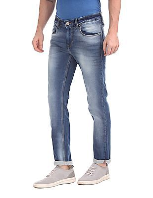 Ruf & Tuf Slim Fit Stone Wash Jeans