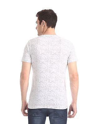 Colt White Short Sleeve Printed T-Shirt