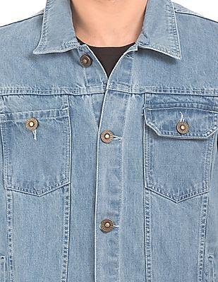 Cherokee Washed Denim Jacket