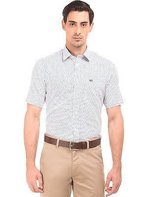 Arrow Sports Printed Short Sleeve Shirt