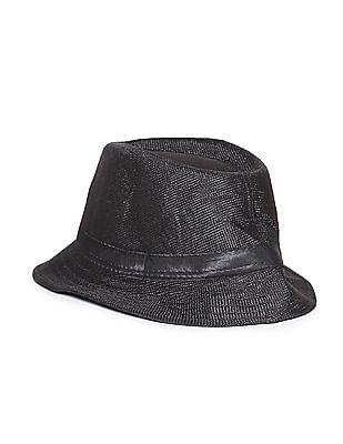 Day 2 Day Boys Contrast Trim Fedora Hat