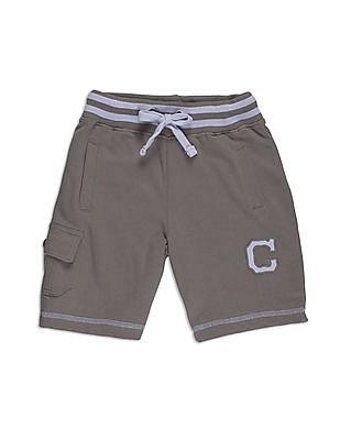Cherokee Boys Charcoal Cargo 3/4Ths