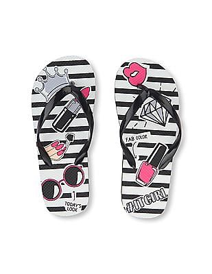 The Children's Place Girls It Girl Flip Flop