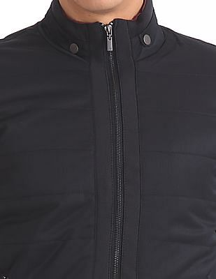Arrow Sports Quilted Zip Up Jacket