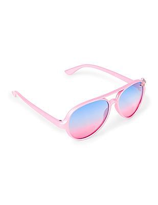 The Children's Place Toddler Girl Gradient UV Sunglasses