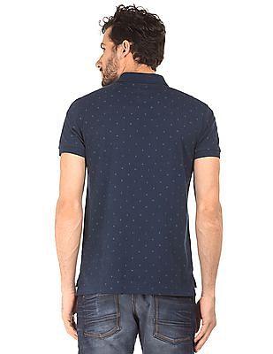 Ed Hardy Printed Pique Polo Shirt