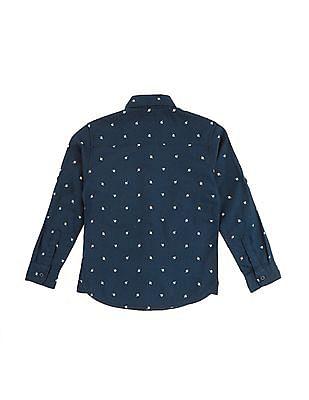 U.S. Polo Assn. Kids Boys Floral Print Shirt