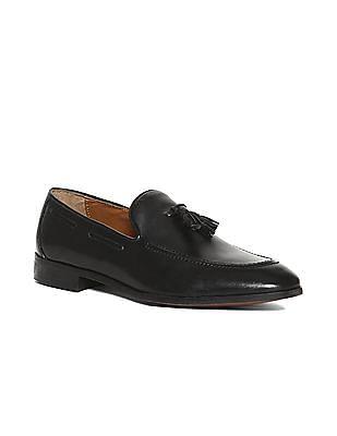 U.S. Polo Assn. Tassel Trim Leather Slip On Shoes