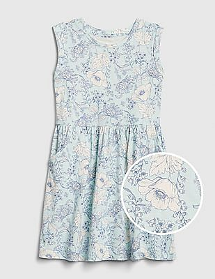 GAP Girls Floral Tank Dress