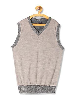 Arrow Merino Wool Sleeveless Sweater