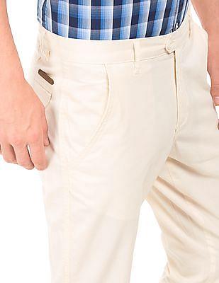 Ruggers Slim Fit Tonal Stripe Trousers