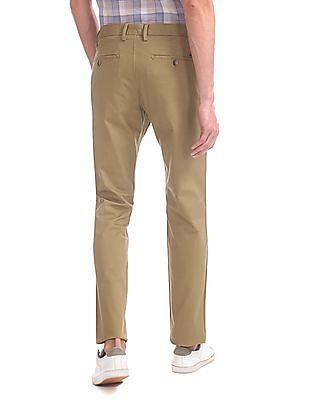 U.S. Polo Assn. Denver Slim Fit Flat Front Trousers