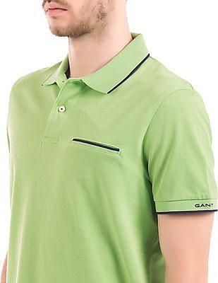 Gant Tipped Pique Polo Shirt
