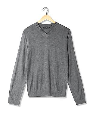 Arrow Newyork V-Neck Long Sleeve Sweater