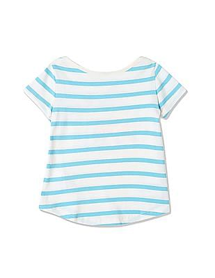 GAP Toddler Girl Babygap | Disney Baby Mickey Mouse And Minnie Mouse Hi-Lo Tee