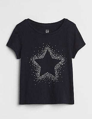 d19af7ee0ef GAP Toddler Girl Graphic Short Sleeve T-Shirt