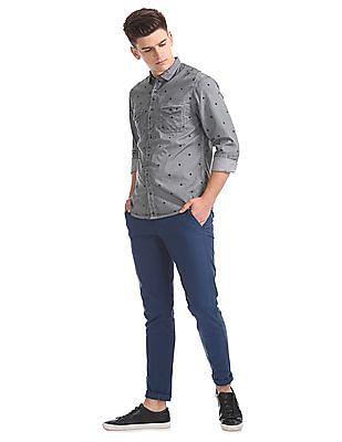 Colt Slim Fit Printed Shirt