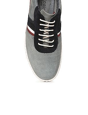 U.S. Polo Assn. Textured Leather Sneakers