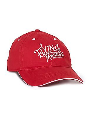 Flying Machine Brand Embroidered Panelled Cap