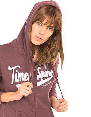 Aeropostale Full Zip Hooded Sweatshirt