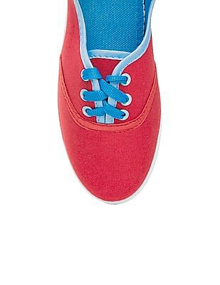 SUGR Solid Canvas Oxford Shoes