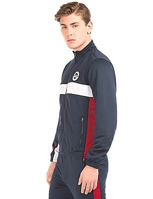 USPA Active Colour Block Regular Fit Jacket