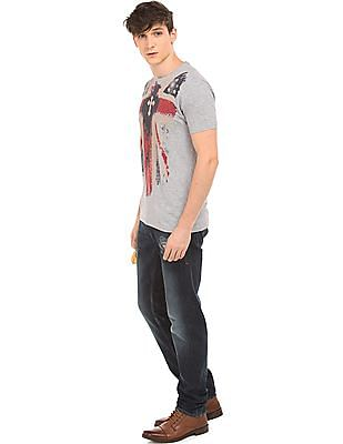 Ed Hardy Printed Front T-Shirt