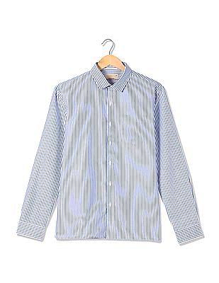 Excalibur Striped Cotton Shirt