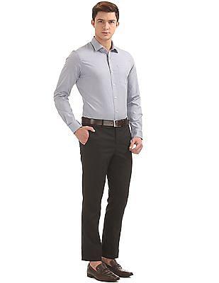 Arrow Slim Fit Herringbone Shirt