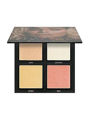 HUDA BEAUTY 3D Highlighter Palette - Pink Sands