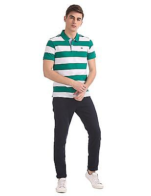 Arrow Sports Regular Fit Stripe Polo Shirt