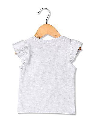 Colt Round Neck Appliqued T-Shirt