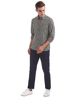 Arrow Sports Slim Fit Gingham Shirt