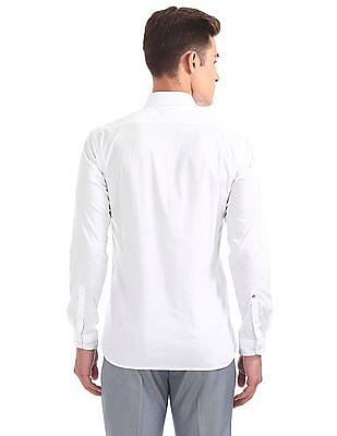 Arrow Newyork Skinny Fit French Placket Shirt