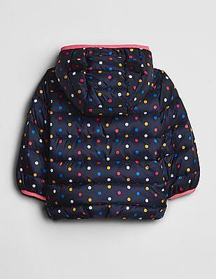 GAP Blue Toddler Girl ColdControl Puffer Jacket