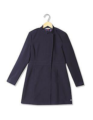 U.S. Polo Assn. Women Regular Straight Fit Longline Jacket