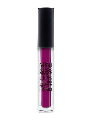 Klara Cosmetics Mini Kiss Proof Liquid Matte Lip Stick - Vixen Plum