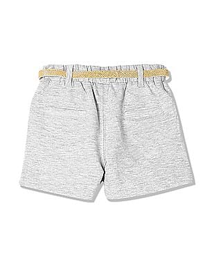 Donuts Girls Mid Rise Knit Shorts