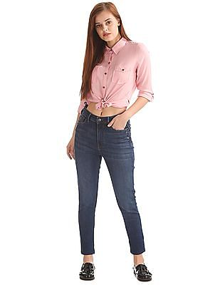 Flying Machine Women Skinny Fit High Rise Jeans